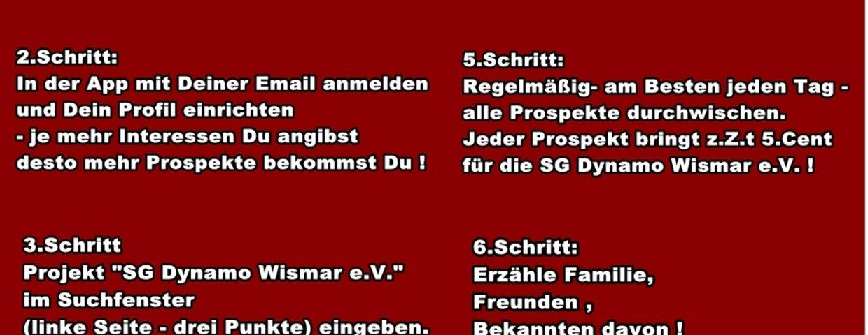 Ihr wollt die SG Dynamo Wismar e.V. unterstützen?