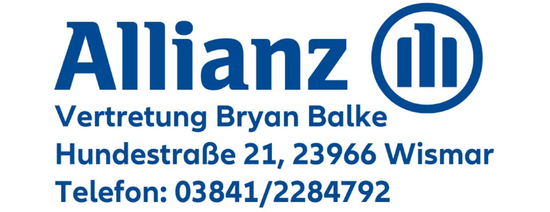 Allianz-Vertretung Bryan Balke sponsert neue Trikotsätze !