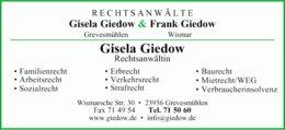 Rechtsanwälte Giedow